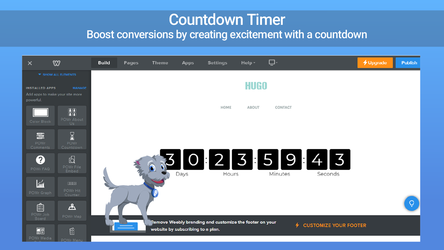 countdown timer add a countdown timer to weeblyCountdowntimer #2