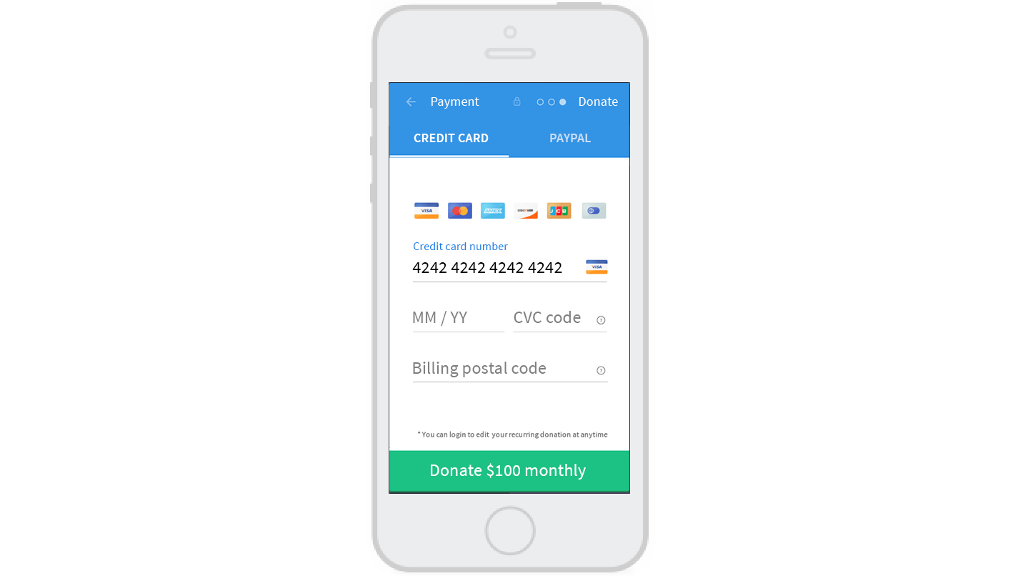 donorbox accept recurring donations effectively