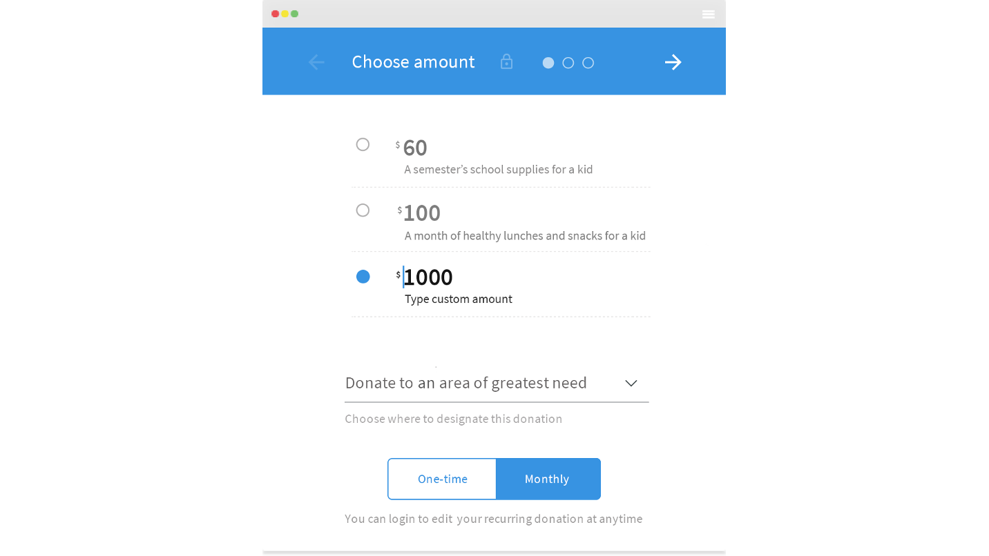 Donorbox - Accept recurring donations effectively