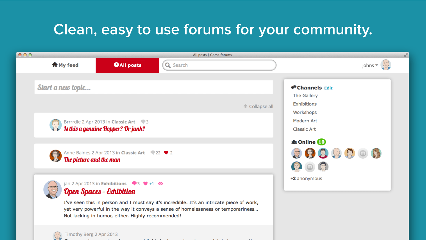 Muut - Forums + Commenting your users will love