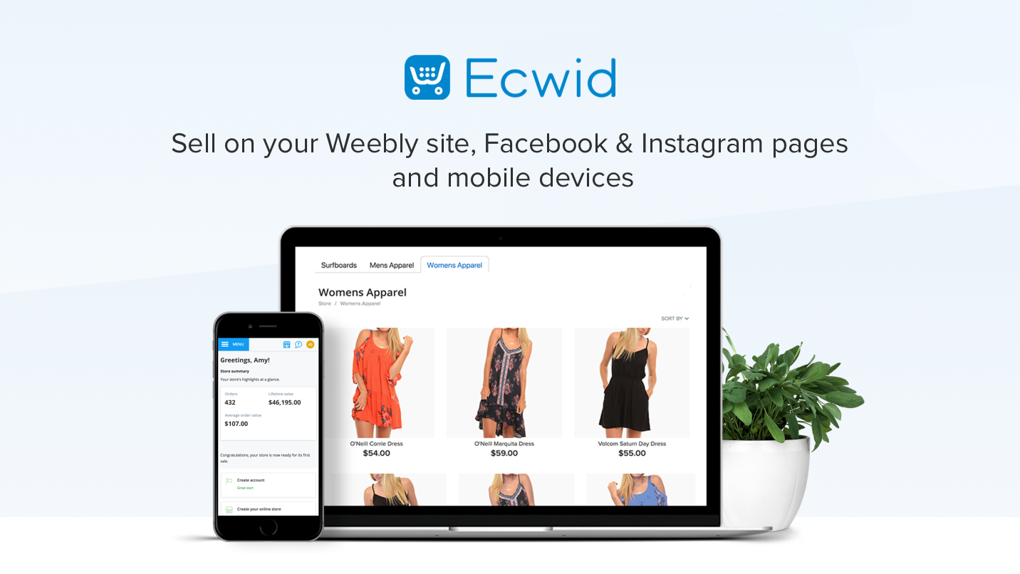 ecwid online store add an online store to your site