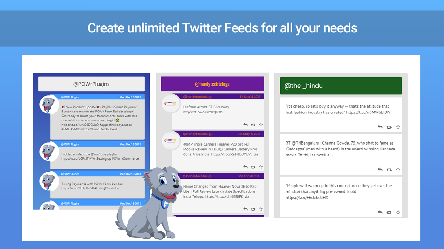 Twitter Feedstream Your Twitter Feed To Your Site!