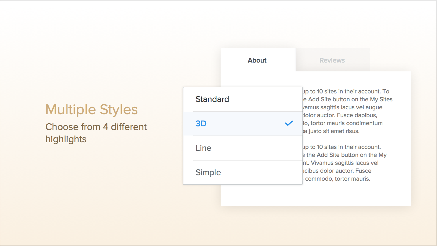how to add tabs on weebly