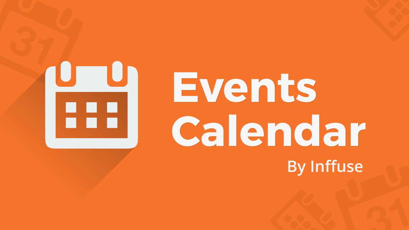 Events Calendar - Display a beautiful events calendar