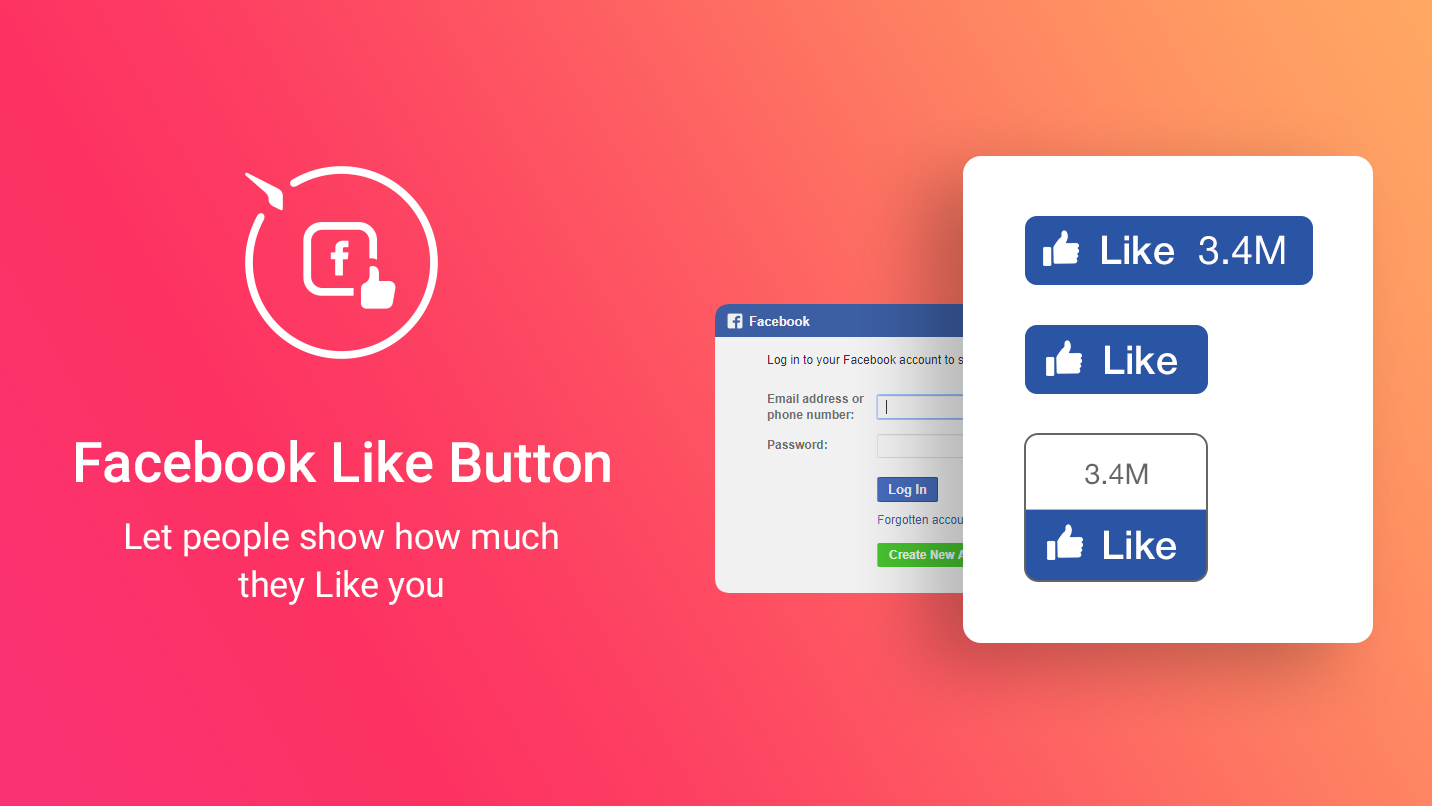 Facebook Like One - An easy way to connect to Facebook