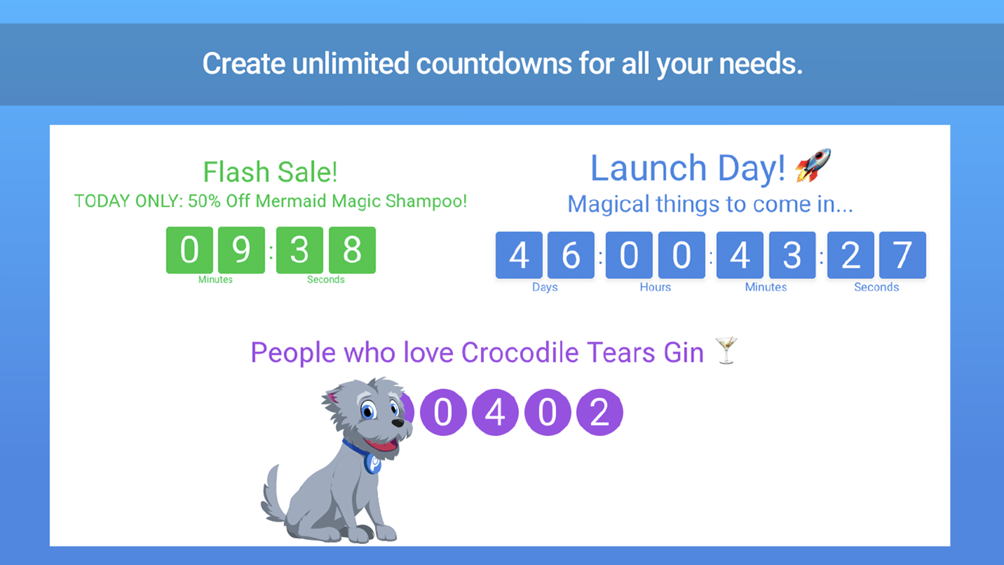 Countdown Timer - Add a Countdown Timer to Weebly