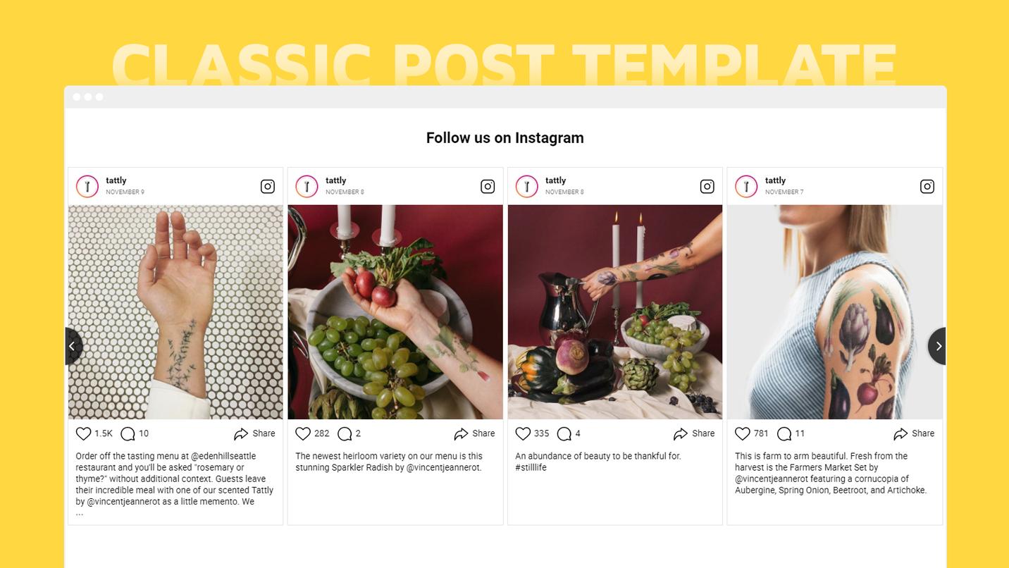 InstaShow - Add Instagram Feed plugin to Weebly