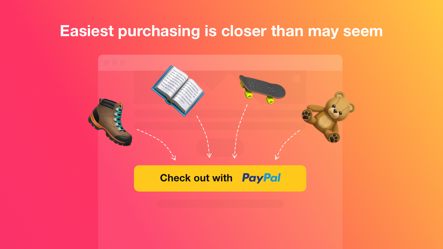 PayPal Button - Set up payments via PayPal on your site